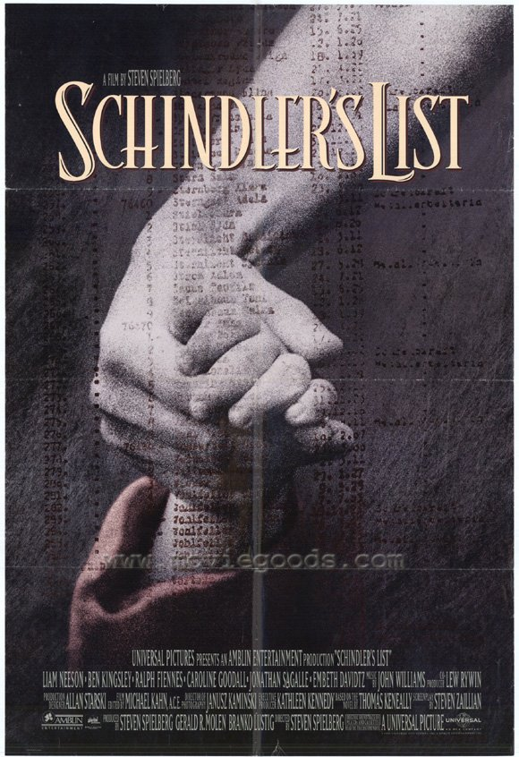 an analysis of the movie schindlers list