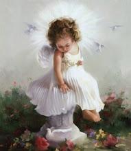 Nunca pensé  que seria tocada por las alas de un angel....