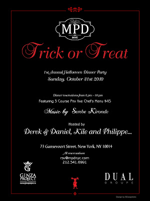 MPD+Halloween+Dinner Trick Or Treat At MPD