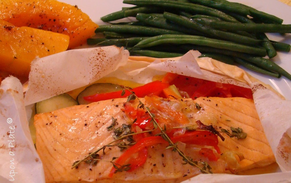 salmon in parchment paper Quick and easy salmon is baked in parchment paper to lock in moisture for a delightful salmon dinner.