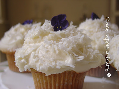 once upon a plate: coconut cupcakes ~ the barefoot contessa