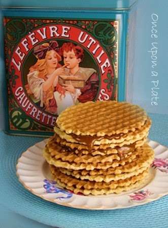 Once Upon A Plate The Recipes Gaufrettes French Style