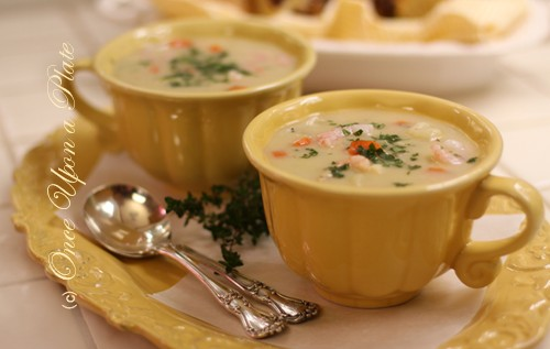 Once Upon a Plate The Recipes: Pacific Coast Seafood Chowder