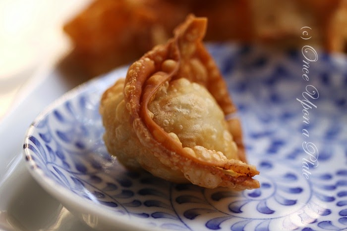 Once Upon a Plate: Cheater's Crab or Smoked Salmon Rangoon