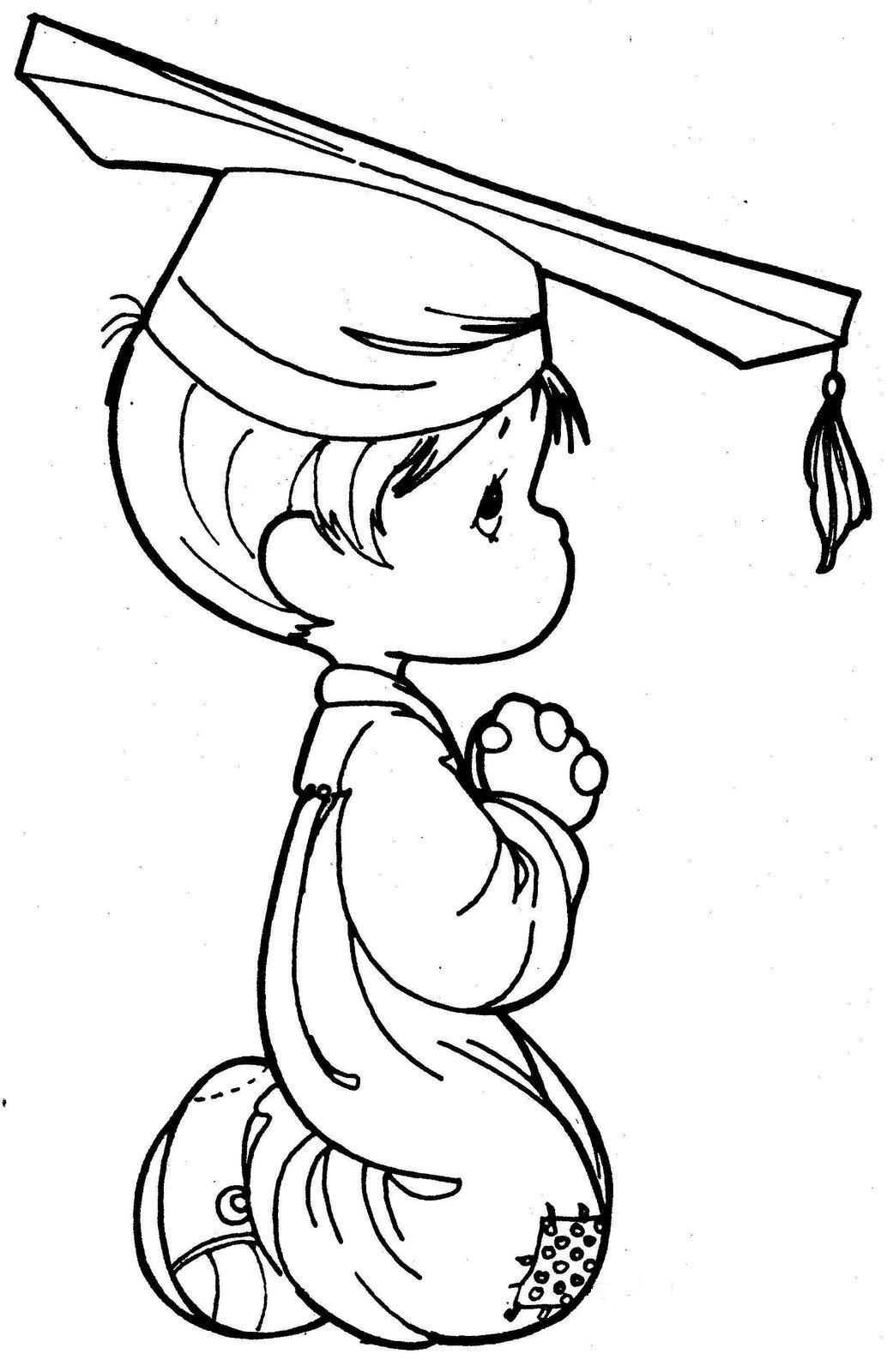 Dibujos de Precious moments de graduación - Imagui