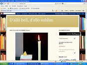 D'allò bell, d'allò sublim