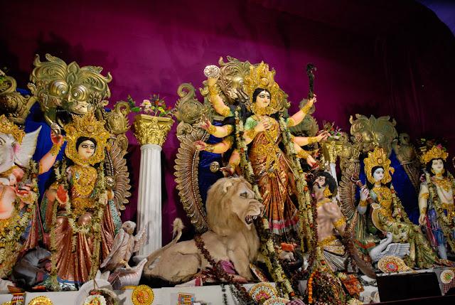 Vivekananda Sporting Club, Calcutta - Durga Puja 2009, Nikon D200