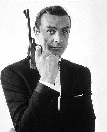 Sean Connery in James Bond 007