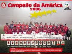 INTER - CAMPEÃO DA TAÇA LIBERTADORES DA AMÉRICA 2006