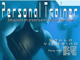 PERSONAL TRAINER: SAULO VITORINO