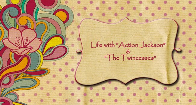 "Life with ""Action Jackson and the Twincesses""!"