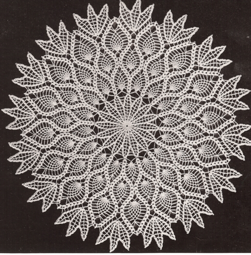 Crocheting Doilies Patterns : Fridays Design List: September 2010