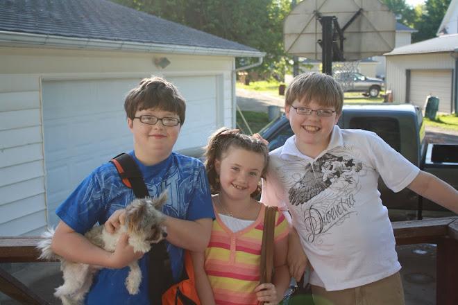 Seth, Mandy and The Gang