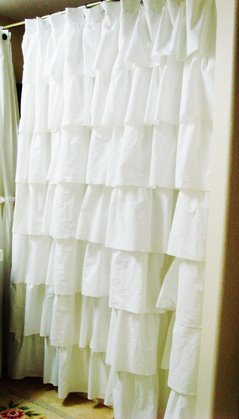 Shabby Chicks. . .happy little things: White Ruffles...