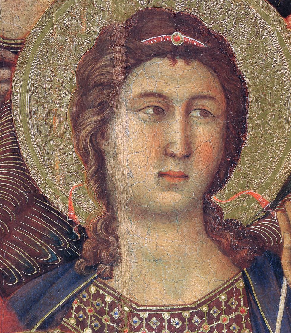 Blog of an Art Admirer: Duccio di Buoninsegna (1255-1319) The Maestà