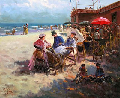 Landscape Painting by Spanish artist Emilio Payes