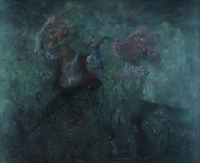 Paintings by Chinese Artist Qiu Jjiongjiong