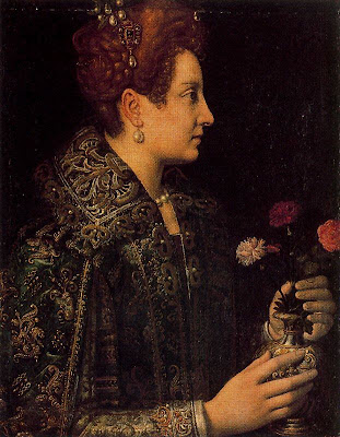 Young Lady in a Profile by Anguissola