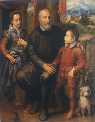 Family Portrait, Minerva, Amilcare and Asdrubale Anguissola
