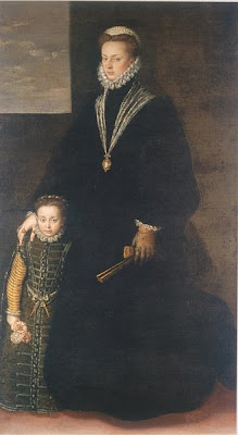 Portrait of Juana of Austria by Anguissola