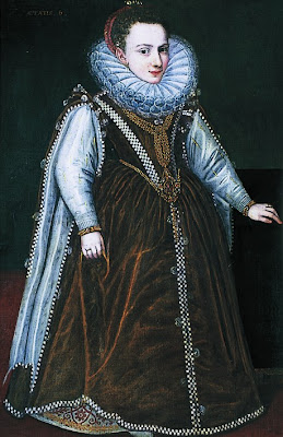 Portrait of Granddaughter of the Duke and Duchess of Parma