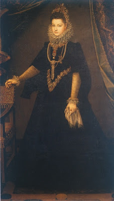 Portrait of Infanta Isabella Clara Eugenia