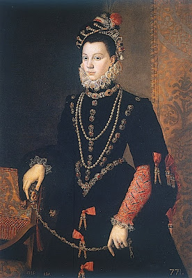 Portrait of Elisabeth de Valois by Anguissola