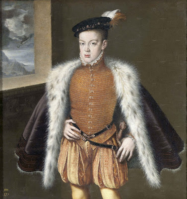 Portrait of Don Carlos, son of King Philip II of Spain