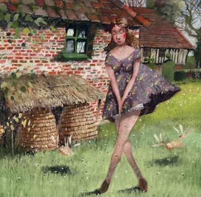 Painting by British Artist Richard Adams
