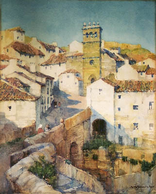 Albert Moulton Foweraker Watercolors