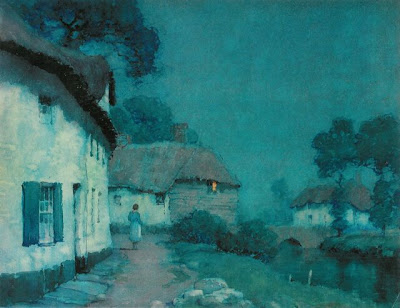 Albert Moulton Foweraker British Watercolor Artist