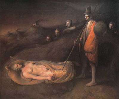 Artwork of Odd Nerdrum Norwegian Artist
