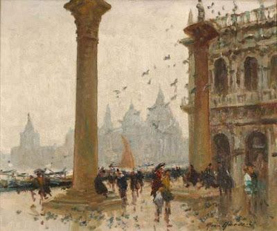 Painting by Italian Artist Merio Ameglio