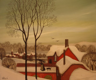 Winter Paintings by Braaq British Artist