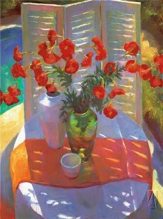 Still Life Paintings by Carolyn Biggio American Artis