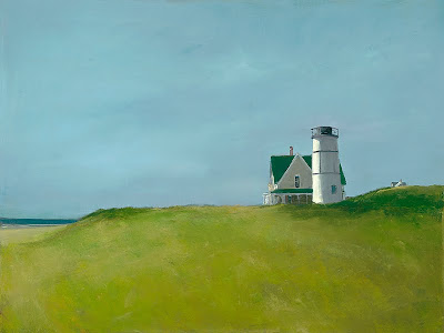 Landscape Painting by American Artist Anne Packard