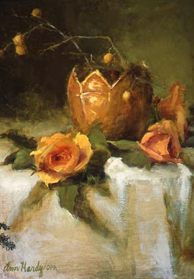 Still Life Painting by American Painter Ann Hardy
