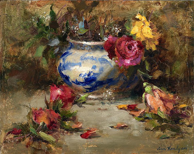 Oil Painting by American Painter Ann Hardy