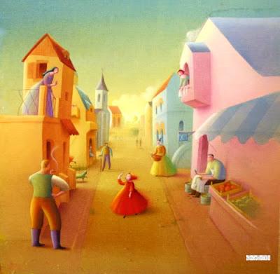 Illustration by Italian Artist Nicoletta Cicolli