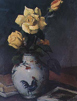 Still Life Painting by Abel Manta Portuguese artist