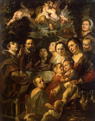 Oil Painting by Jacob Jordaens Flemish Artist