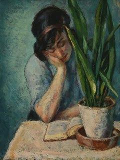 Oil Painting by Albert Reuss Austrian Artist
