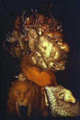 Paintings by Giuseppe Arcimboldo Earth