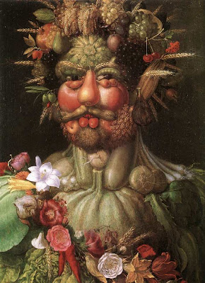 Paintings by Giuseppe Arcimboldo Vertumnus