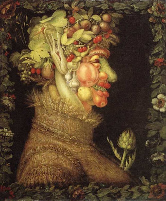 Paintings by Giuseppe Arcimboldo Summer