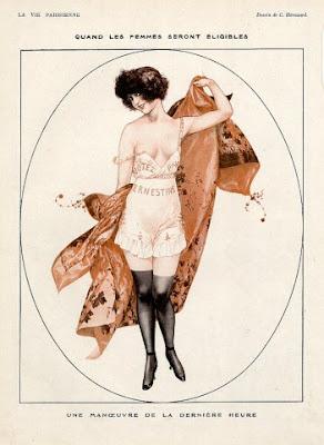 Illustration for La Vie Parisienne by Cheri Heruard