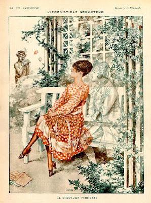 Illustration by Cheri Heruard French artist