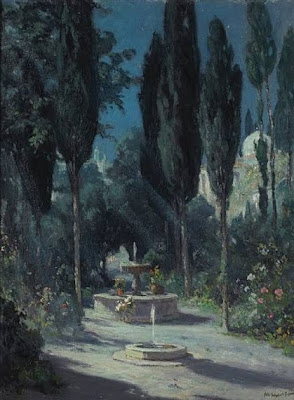 Painting by American Impressionist Artist Colin C. Cooper