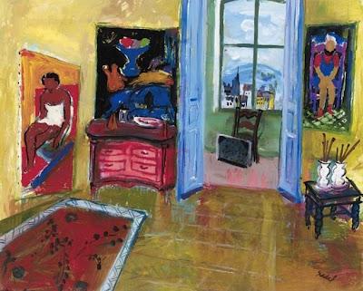 Paintings by Carlos Nadal Spanish Artist