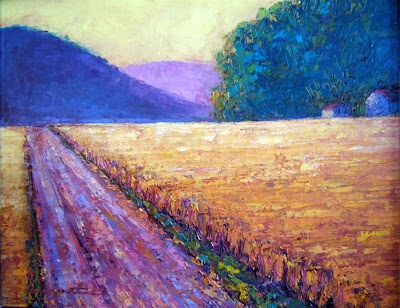 Landscape Painting by American Artist Debra Clemente